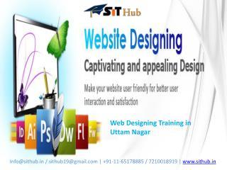 web designing course in uttam nagar, janakpuri, Dwarka