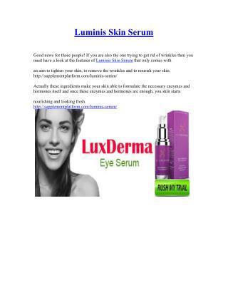 http://supplementplatform.com/luminis-serum/