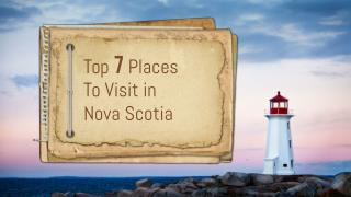Nova Scotia Tours : Things to do in Nova ScotiaZde