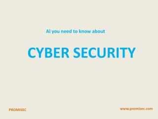 All you Need to Know about Cyber Security