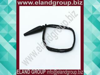 Black Leather Uniform Sword Knot