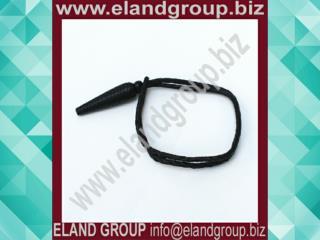 Black Leather Uniform Sword Knot