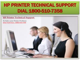 Troubleshoot HP Printer Wireless Connection Problem Dial 1800-510-7358