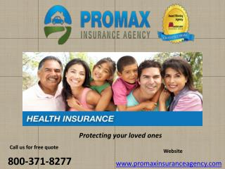 Health insurance in California