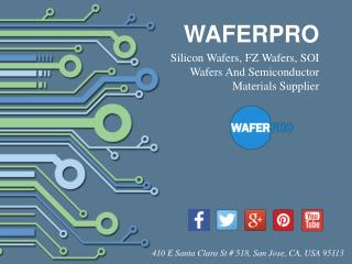 WaferPro - Silicon Wafer Supplier From California, USA