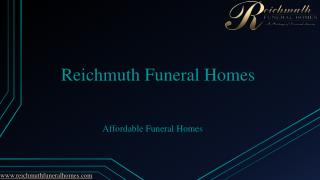 Reichmuth Funeral Homes