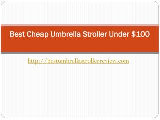 Best cheap umbrella stroller
