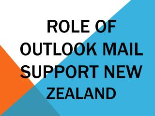 Role of outlook mail support new zealand
