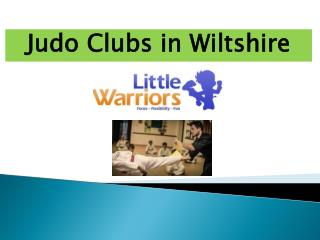Best Judo Clubs in Wiltshire