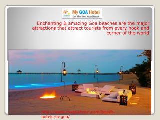 Goa Beaches Best Destination for Travellers
