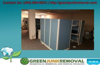 Office Furniture Cubes Removal Atlanta, GA