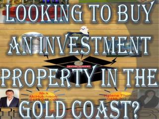 Looking To Buy An Investment Property In The Gold Coast?