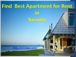 Find Best  Apartments For Rent In Toronto