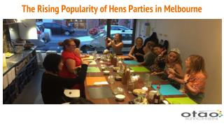 The Rising Popularity of Hens Parties in Melbourne
