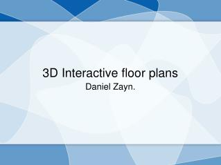 Amazing floor plans in 3D services at budgetrenderings in Illinois.