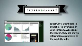 Accounts Receivable !  Dexter & Chaney