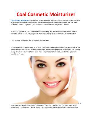 http://www.topwellnesspro.com/coal-cosmetic-moisturizer/