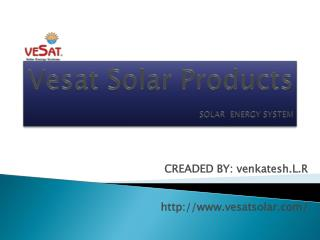 Solar Panel Manufacturers In Coimbatore