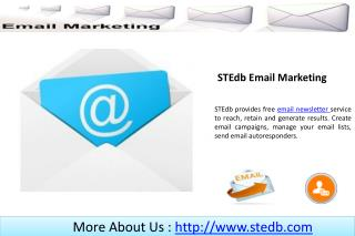 Best Email Service - STEdb.com