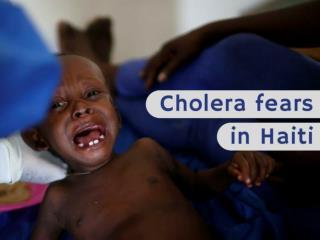 Cholera fears in Haiti