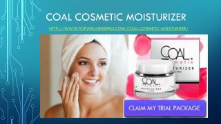 Coal Cosmetic Moisturizer Reviews