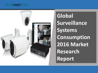 Global Surveillance Systems Consumption 2016 Market Research Report