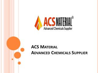 Graphene Products Supplier - ACS Material