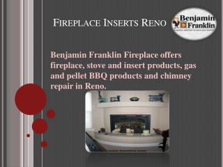 Fireplace Inserts Reno