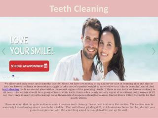 Teeth Cleaning and Beauty