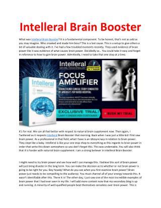 http://www.healthytalkzone.com/intelleral-brain-booster/