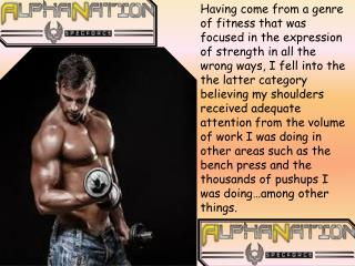 Gain Your Body Size & Strenght Fast Need Help to Alphanation