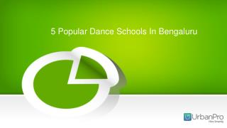 5 Popular Dance Schools In Bengaluru