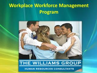 Workplace Workforce Management Program