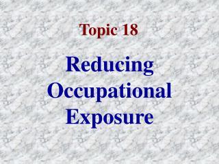 Topic 18