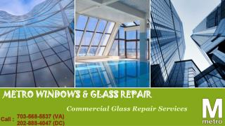 Is it Time for Commercial Glass Replacement?