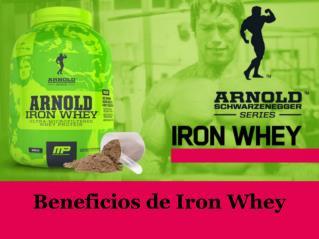 Beneficios de Iron Whey