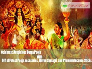 Durja pooja special pooja and havan samagri with premium incense sticks