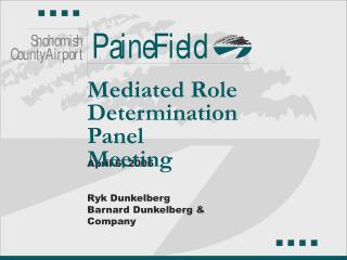 April 6, 2006   Ryk Dunkelberg Barnard Dunkelberg  Company