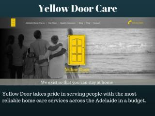 Yellow Door Care- Best Home Care Nurse Services