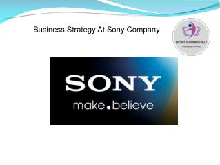 Business Strategy at Sony