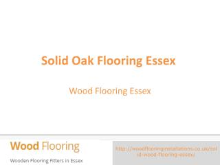Solid Oak Flooring Essex