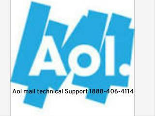 Aol Mail Customer Support. 1888-406-4114