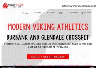 CrossFit Burbank - Modern Viking Athletics
