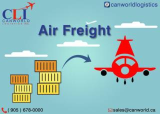 International Air Freight Services - Canworld Logistics INC
