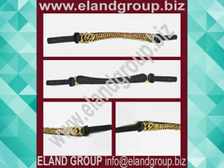British Bearskin Chin Chain Strap