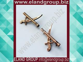 General Officer Crossed Sword Pair