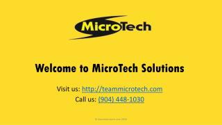 Water Damage Restoration Jacksonville FL - MicroTech Solutions