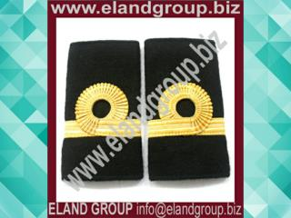 Gold Lace Navy Ranks Slide Sub Lieutenant