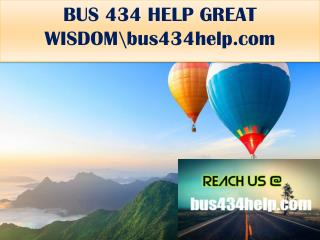 BUS 434 HELP GREAT WISDOM\bus434help.com