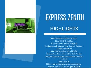 Express Zenith in Sector 77 - Noida - BuyProperty.com